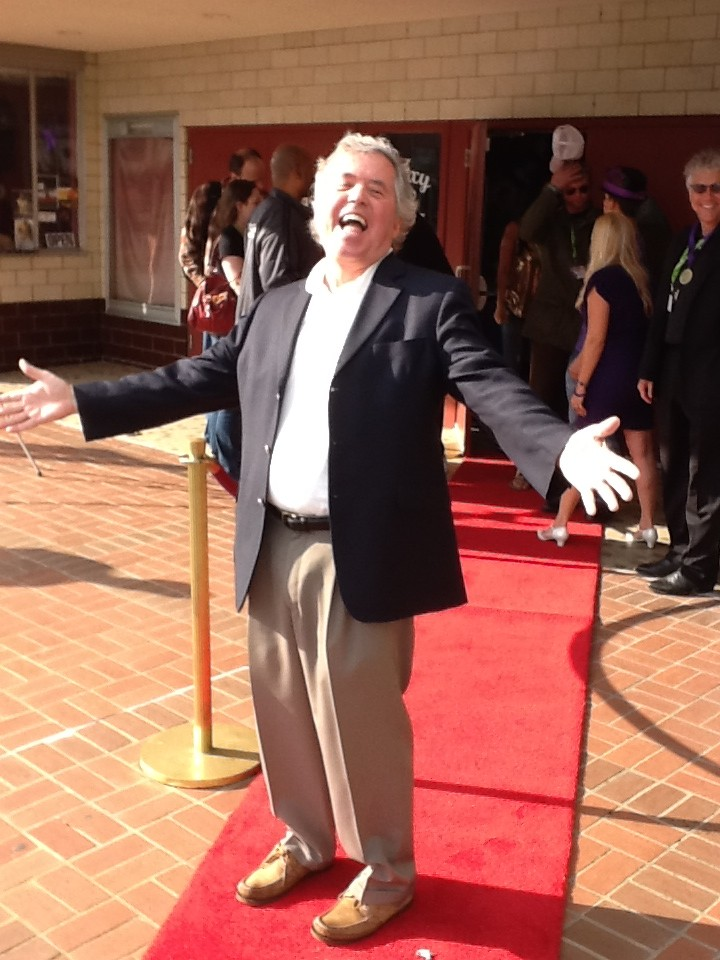 Barry on Red Carpet at BBIFF
